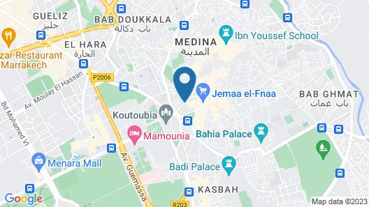 Riad Dia - Hostel Map