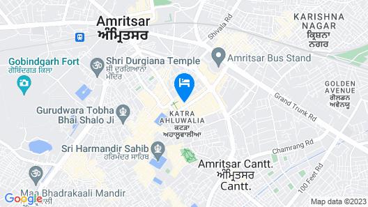 Hotel Infa Map