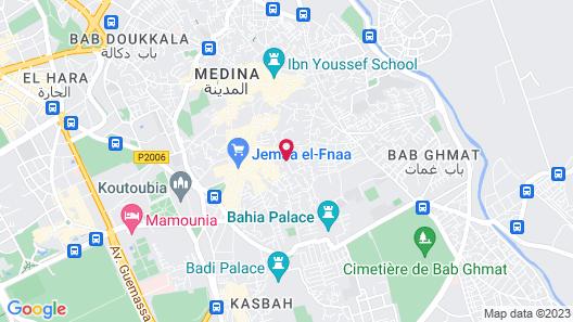 Riad Itrane Map