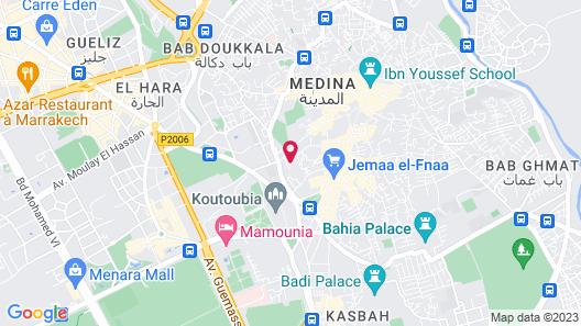 Palais Sebban Map