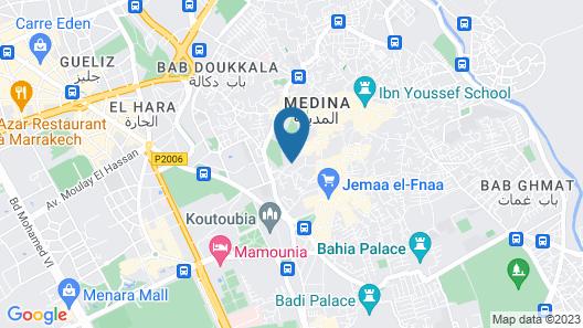 Riad Elisa Map
