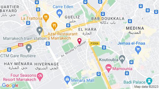 Dellarosa Boutique Hotel Map