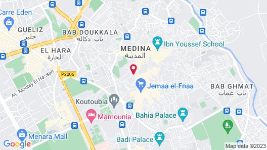 Riad Dar Justo Hotel Boutique & Spa Map