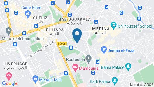 Hôtel & Ryads Barrière Le Naoura Map