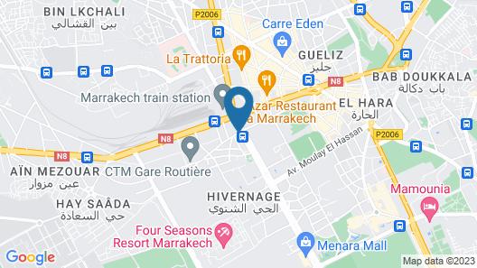 Mogador Opera Hotel & Spa Map