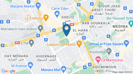 2Ciels Boutique Hotel & SPA Map