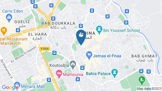 Riad SACR Map
