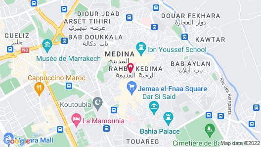 Riad Ilayka Map