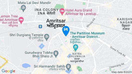 Ramada by Wyndham Amritsar Map