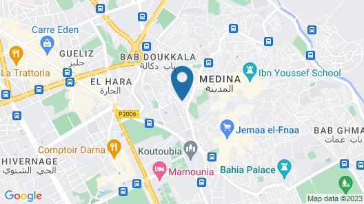 Riad Ambre et Epices Map