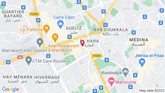 Hôtel Spa Atlassia Map