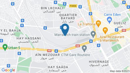 Appartement Assafa Map