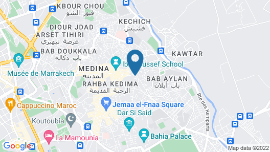 Riad Azzouna 13 Map