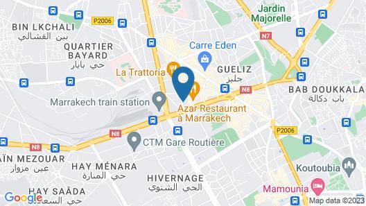 Hôtel Meriem Map