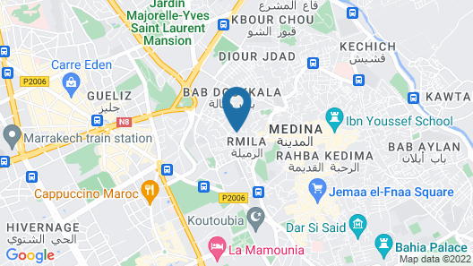 Riad Bindoo Map