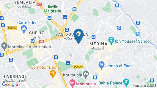 Le Riad Jardin Des Rêves Map