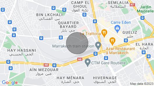 Rauhallinen, Lepo-ja Romanttinen Pakopaikka DAR Assafa Map