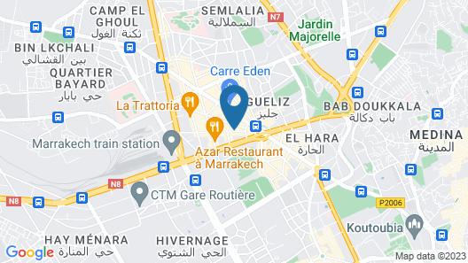Almas Hotel Map