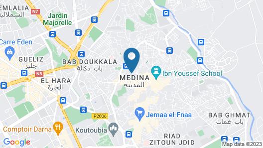 Riad Hannah Map