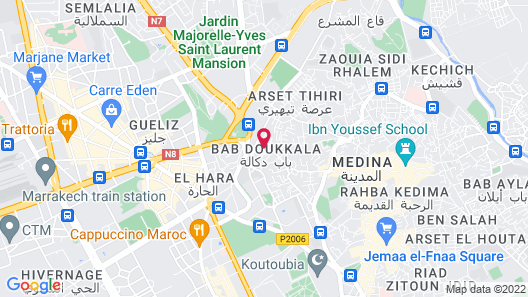 Riad Wardate Rita Map