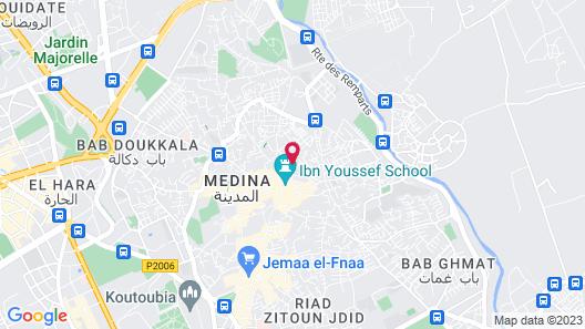 Dar Darma - Riad Map