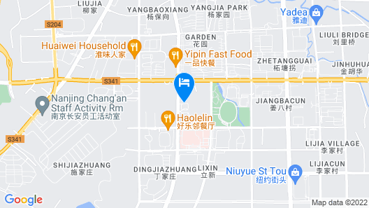 Junkai Hotel Map