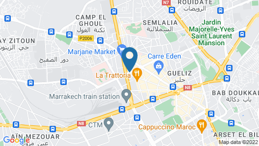 Hotel Agdal Map