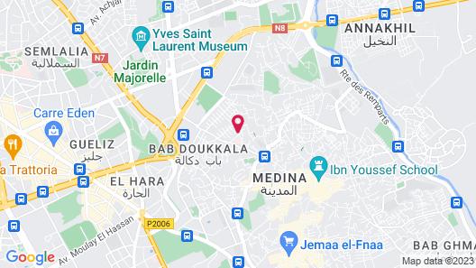 Riad Zenithya Map
