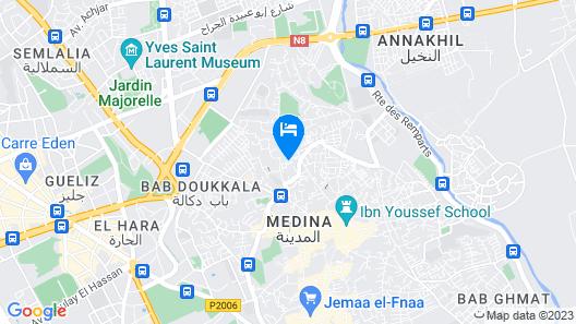 Riad Amina Map