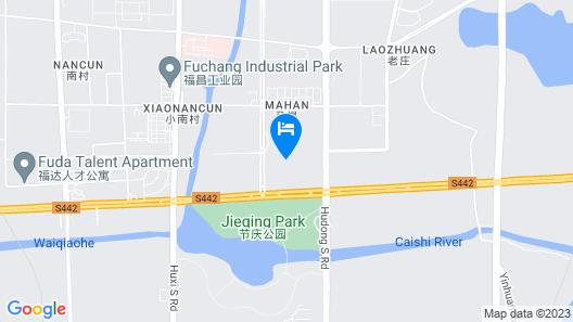 Wanda Realm Maanshan Map