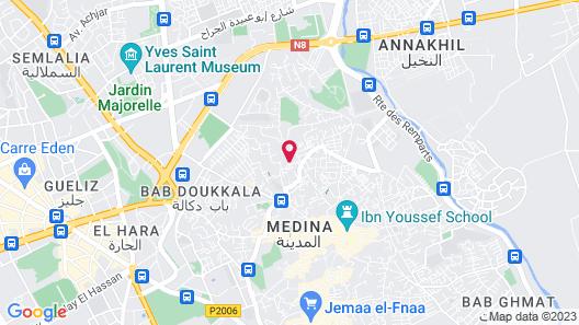 Riad Al Jazira Map