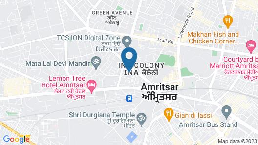 Fairfield by Marriott Amritsar Map