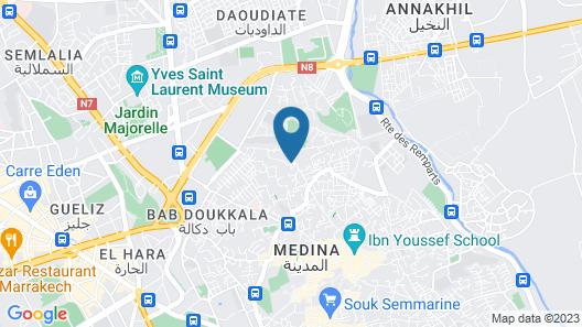 Dar Zouar Map