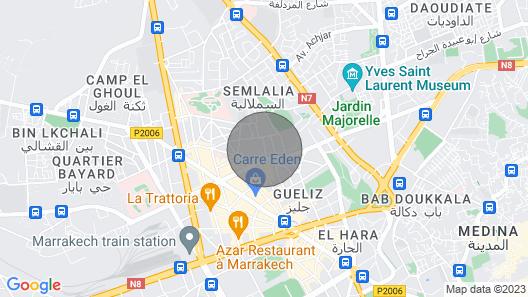 Designer Suite Center Marrakesh Private Terrace Pool Netflix Map