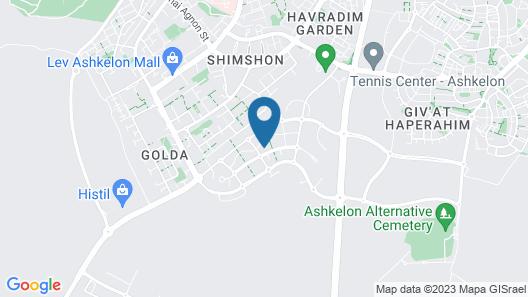 Agamim nofesh ashkelon LTD Map