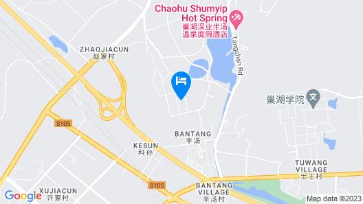 Holiday Inn Resort Chaohu Hot Spring, an IHG Hotel Map