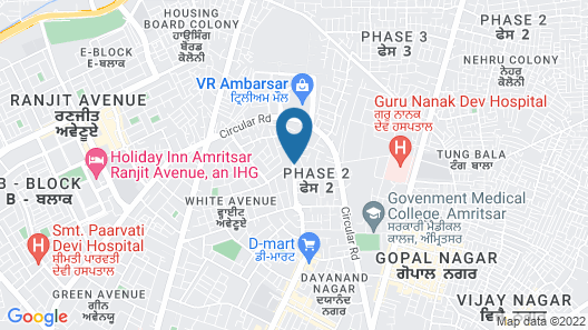 Taj Swarna Map