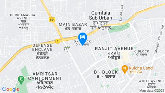SureStay Hotel by Best Western Amritsar Map