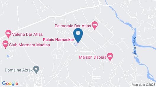 Palais Namaskar Map