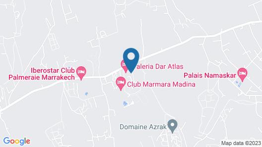 Valeria Dar Atlas Resort All Inclusive Map