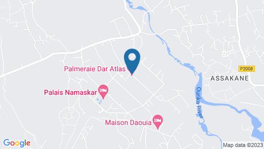Palmeraie Dar Atlas Map