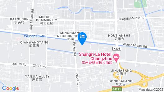 Shangri-la Hotel, Changzhou Map