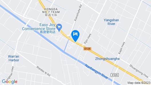 Honghua Resort - Shanghai Map