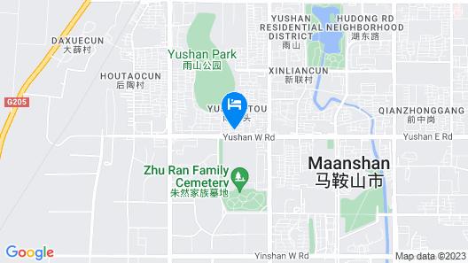 Greentree Alliance Maanshan Yushan District Middle Map