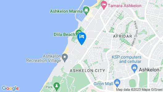 Regina Goren Hotel Map