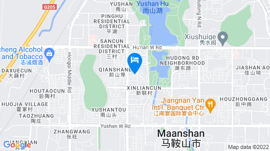 Crowne Plaza Maanshan Map