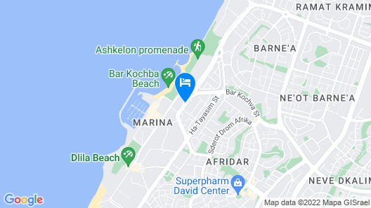 Leonardo Hotel Ashkelon Map