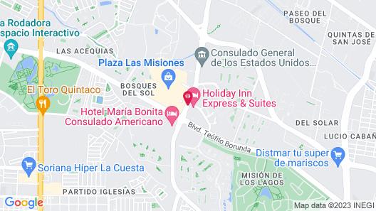 Holiday Inn Express Hotel & Suites Cd. Juarez - Las Misiones Map