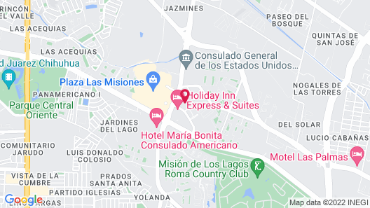 Microtel Inn by Wyndham Ciudad Juarez/By US Consulate Map