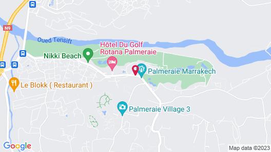 Palmeraie Palace Map